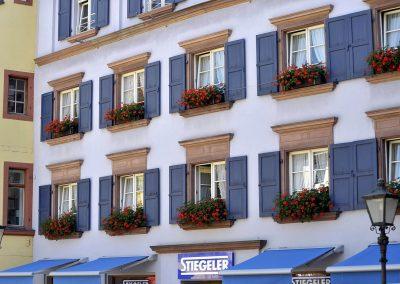 Hausfront Freiburg Stiegeler