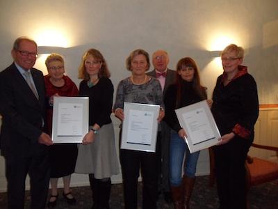 Langjährige Mitarbeiterinnen bei Stiegeler- Das Bettenhaus am Augustinerplatz geehrt