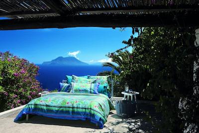 Mediterrane Sommerkollektion für das Schlafzimmer