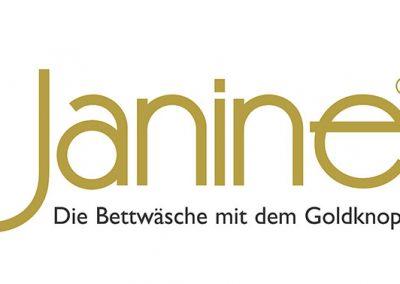 Janine - Die Bettwäsche mit dem Goldknopf