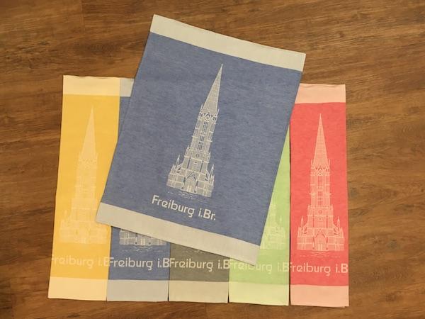Das ideale Ostergeschenk: Der Münsterturm als Geschirrtuch!