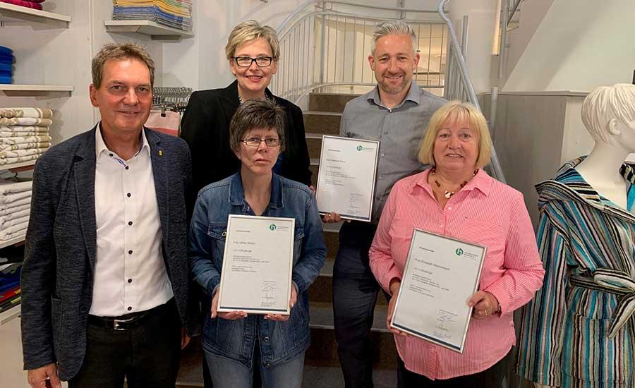 Freiburg: Stiegeler Schlafkomfort ehrt langjährige Mitarbeitende