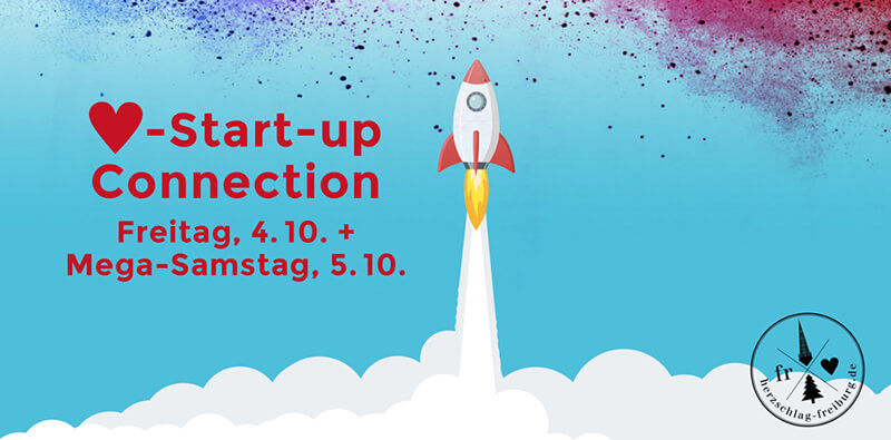 Start-up Connection – MEGA-Samstag am 5. Oktober 2019 in Freiburg