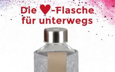 Trinkflasche von Herzschlag-Freiburg