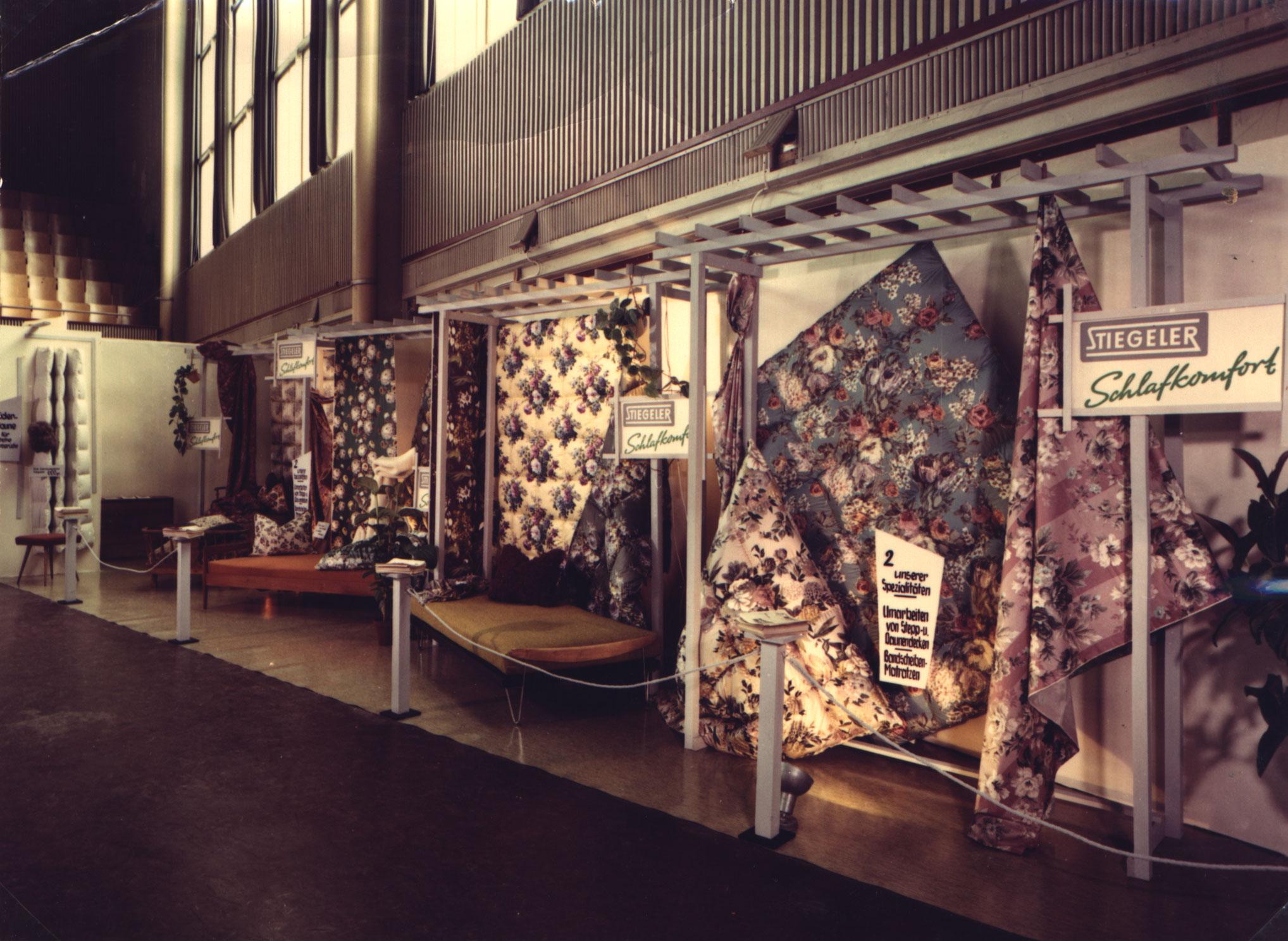 Stiegeler Textilien Sortiment